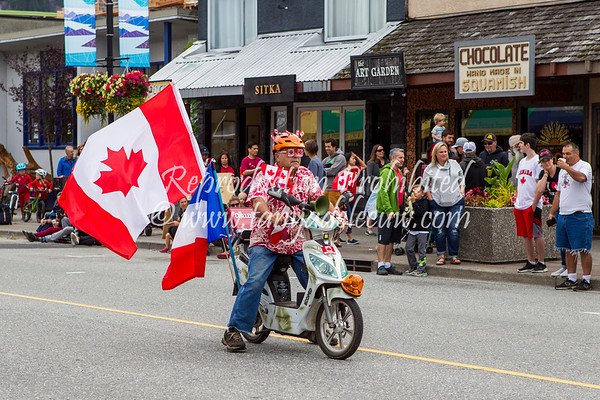 Canada Day Parade - Squamish 2018