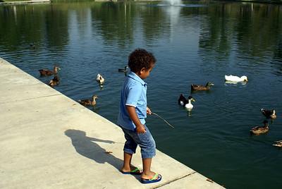 Isaiah at the Lake July 2010