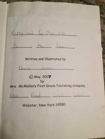 Becca's writings