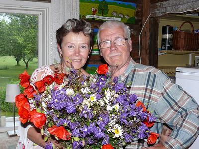 Elleni ja Andrese  40. pulma-aastapäev-2012