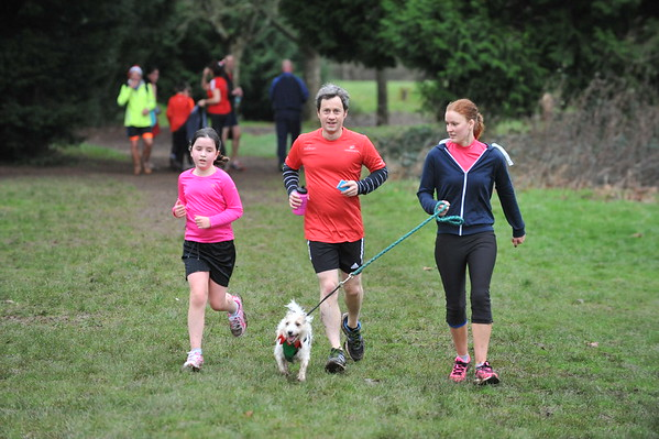 Eastleigh parkrun - Christmas Day 2015