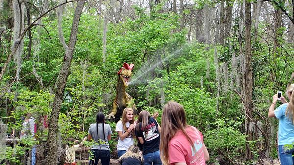 Nashville Zoo 2014 April with DinoTrek