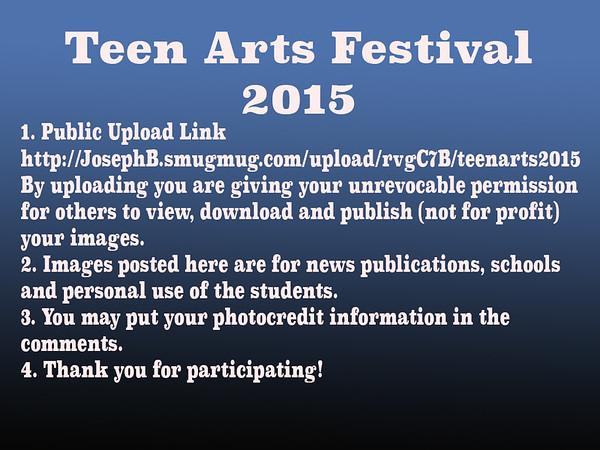 Teen Arts 2015