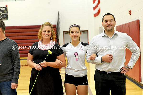 UCHS Parents & Senior Night and Dig Pink 10-20-2015
