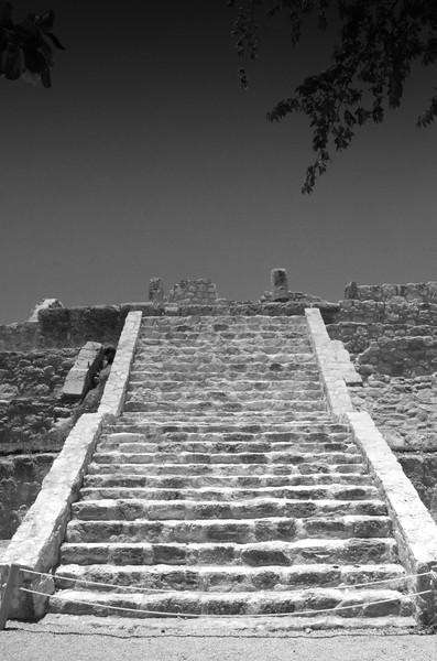Steps at a Mayan Ruin