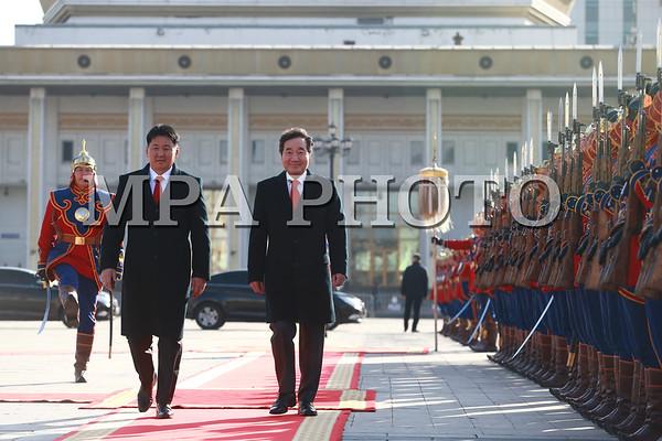 Бүгд Найрамдах Солонгос Улсын Ерөнхий сайд Ли Наг Ён айлчилж байна