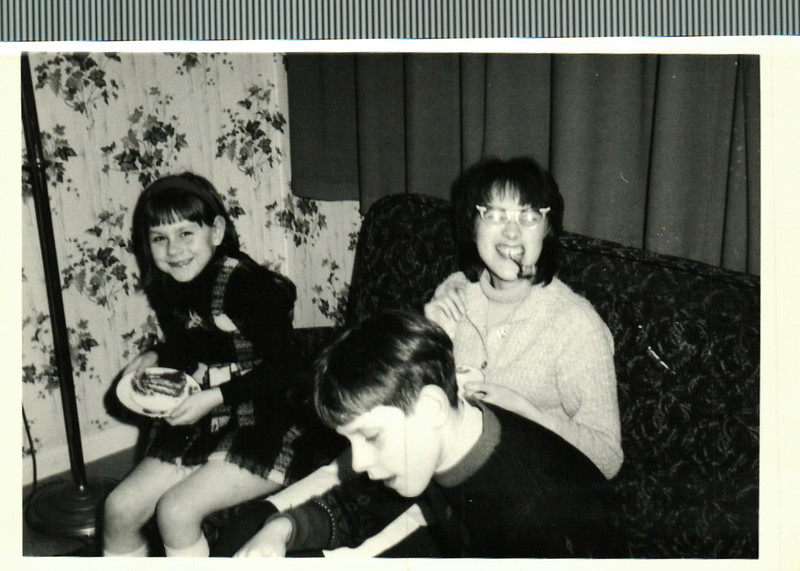 Jean, Paul and Sheila at home in Lancing