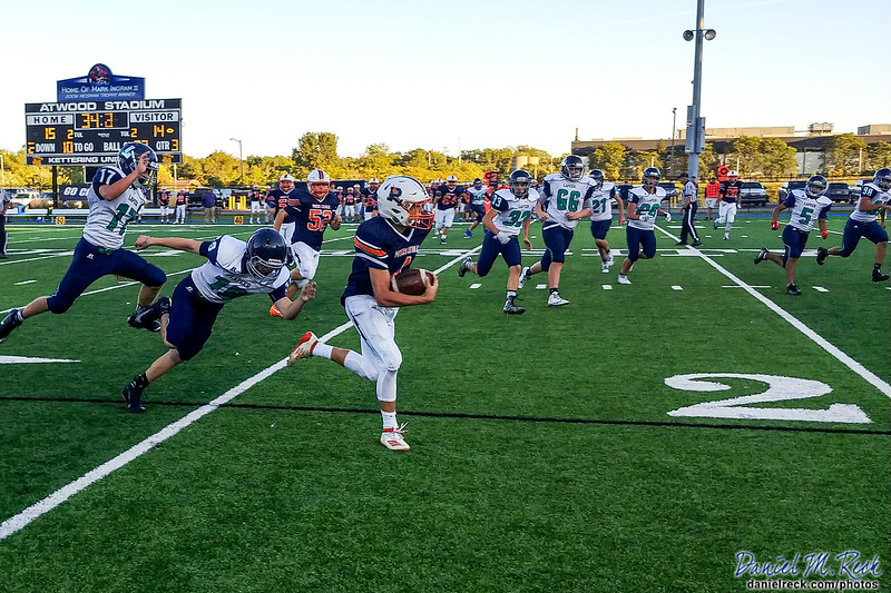 Chargers Football vs. Lapeer at Atwood Stadium