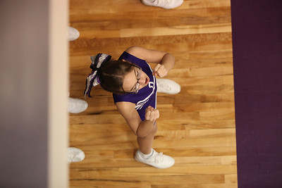 DMS Basketball Cheerleading 2010-2011