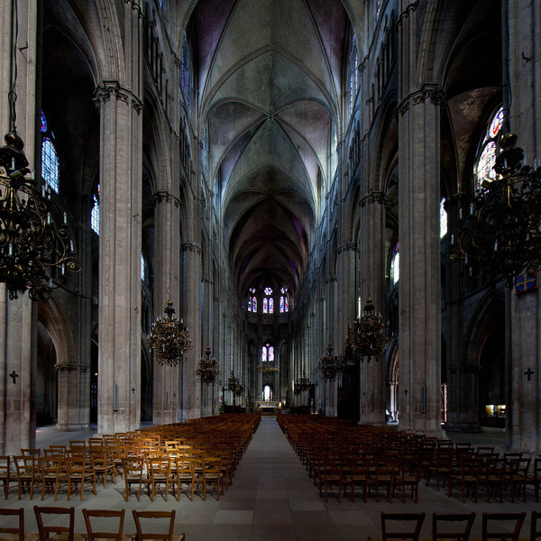 Bourges Cathedral Nave and Choir