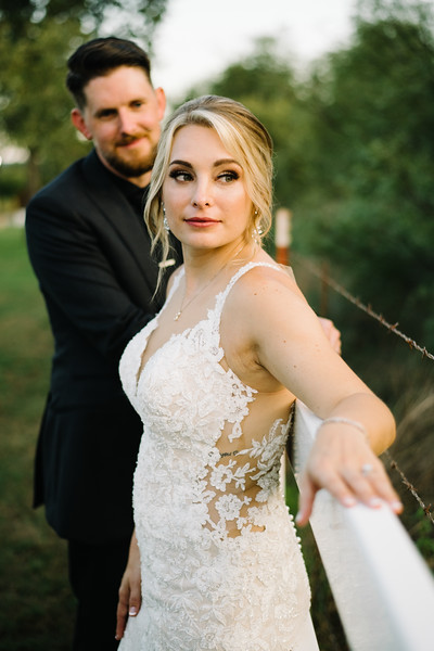Courtney and Johnny's Wedding at The Springs Event Venue in Weatherford, Texas