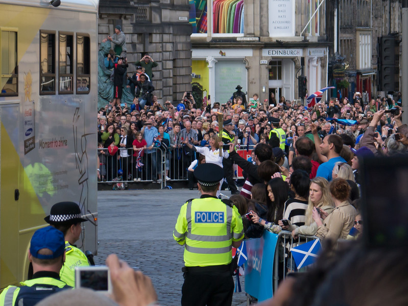 First view of the torch (Lesley Forrest)