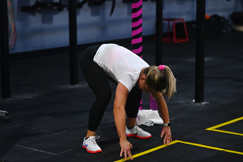 Abbey Richards Burpees for Breast Cancer