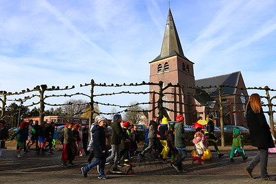 Carnavalstoet De Oever en scholen Gooreind 2020