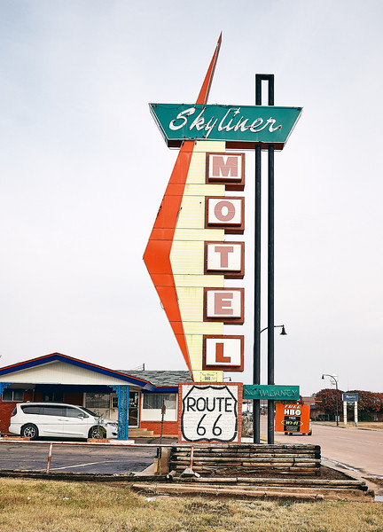 Route 66 - Skyliner Motel, Stroud, Oklahoma