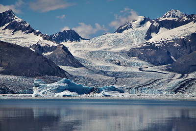 Columbia Glacier, Prince William Sound, and Port Valdez