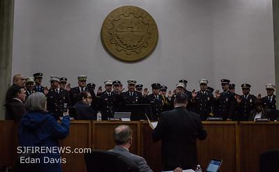 02/12/2019. Swearing in Ceremony, Vineland Fire Dept. Volunteer Officers