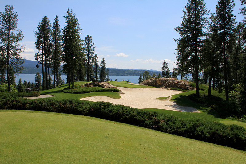 The Couer d'Alene Resort, Couer d'Alene, ID - Hole #5