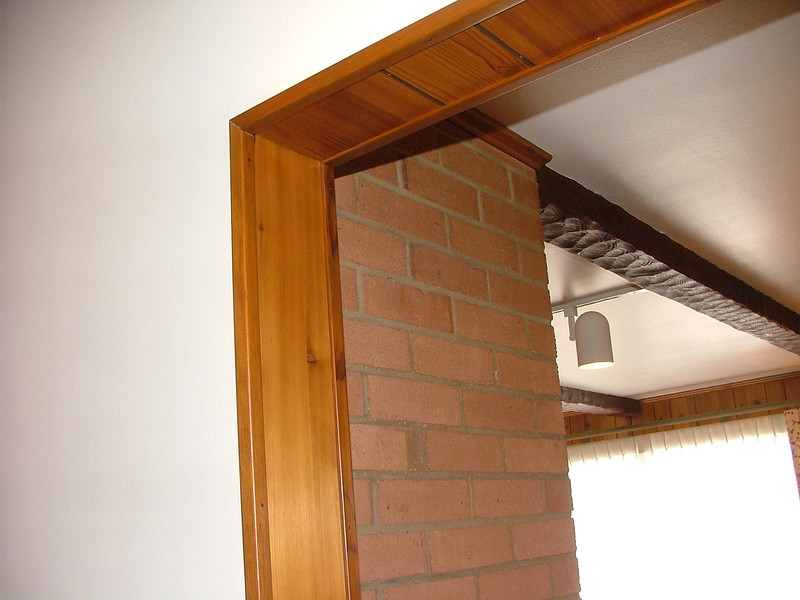 panel, and beam accents, brick chimney (gas fireplace)