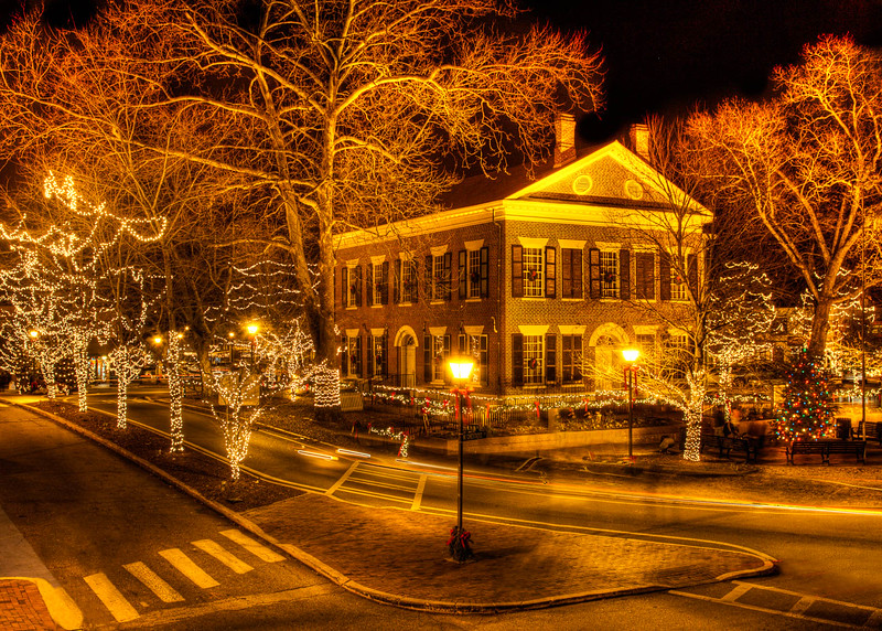 Dahlonega Courthouse Gold Museum at Christmas