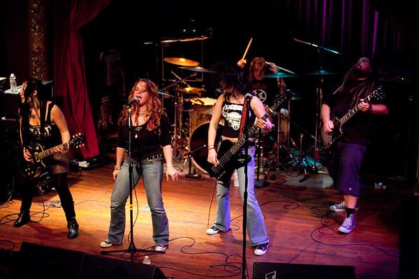 Witchburn  -  Columbia City Theater  -  Seattle WA  - 092609