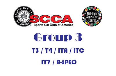 2018 Group 3 Fall SCCA Regional at Mid Ohio