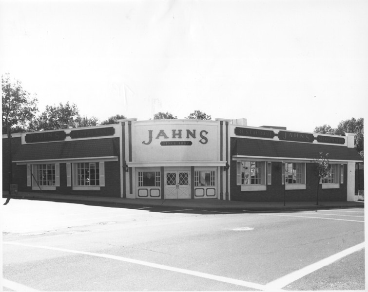 Jahns was at the corner of Stuyvesant Ave. and Roosevelt Ave. Currently the site is the parking lot for Rite Aid.
