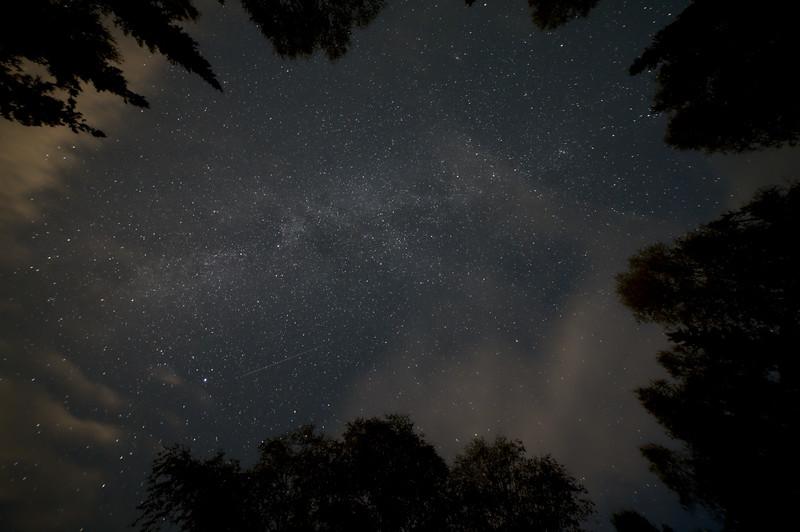 A bit of Milky Way
