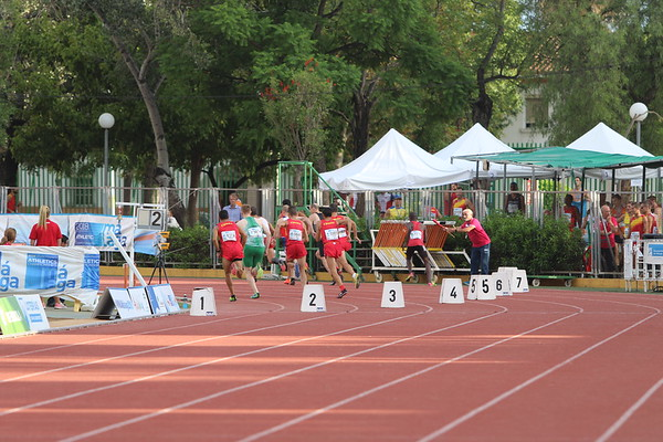 Malaga - Sunday 9th - 800m Prelims