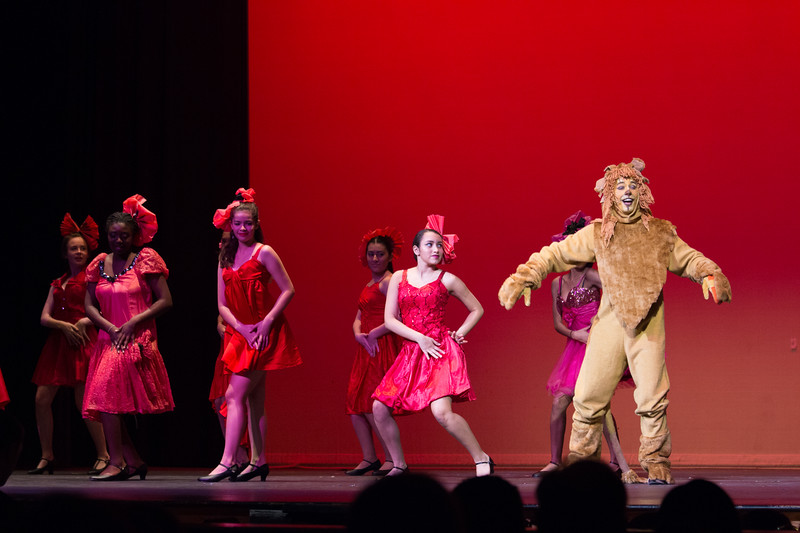 """""""Lion's Dream"""" (with the Poppies) -- """"The Wiz"""", Montgomery Blair High School spring musical, March 26, 2017"""