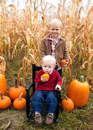Dylan & Miles Pumpkin Mini