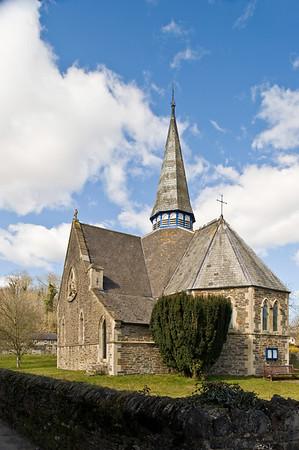 Parish church, Herbertonford, Devonshire, United Kingdom