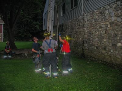 8-11-09 Ladder Drill