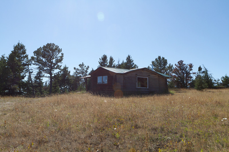 The cabin at the top of the mountain