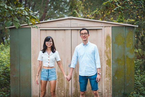 Thomas and Gina Casual Shoot