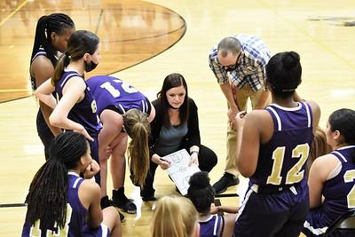 GIRLS BASKETBALL Sectionals Gavit VS Calumet New Tech 2021