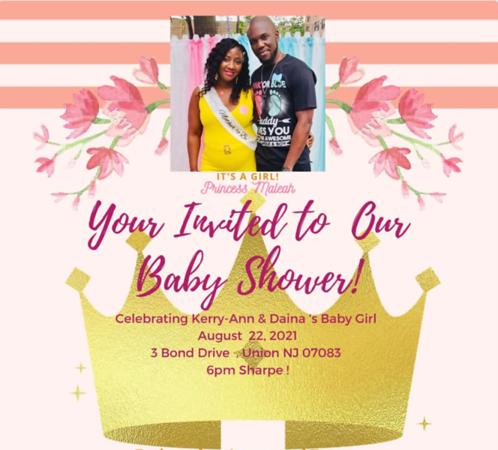 Celebrating Kerry-Ann & Daina's  Baby Girl