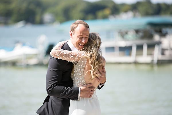 Megan Ben Walloon Lake Wedding
