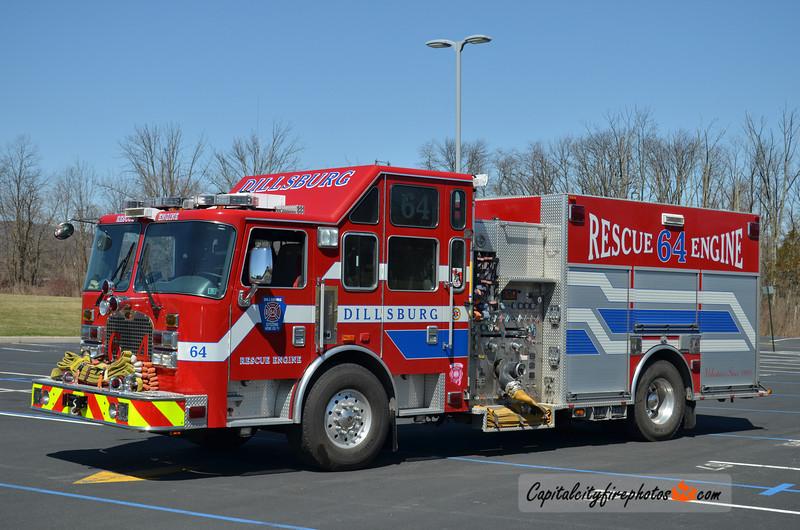 Dillsburg (Citizens Hose Co No. 1) Rescue 64: 2006 KME 2000/700