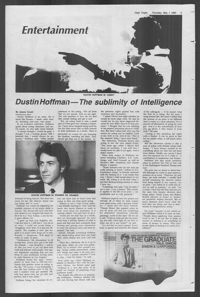 Daily Trojan, Vol. 88, No. 56, May 01, 1980