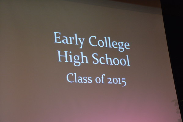 Early College High School Graduation 2015