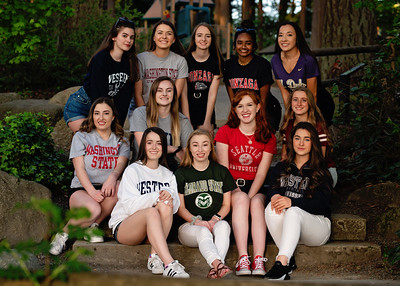 Senior Model Team 2019 College shirts