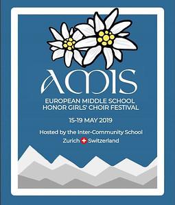 2019 European Middle School Honor Girls' Choir
