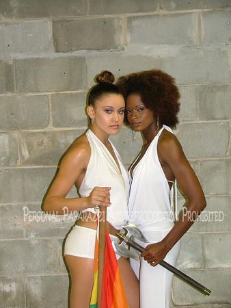 Labrys Cover Photo Shoot Black Pride 2005