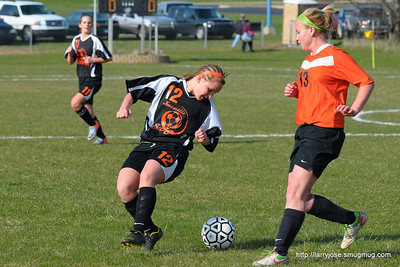 Jonesville vs Leslie Girls Soccer