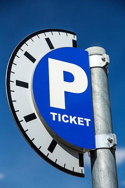 Parking Ticket Sign
