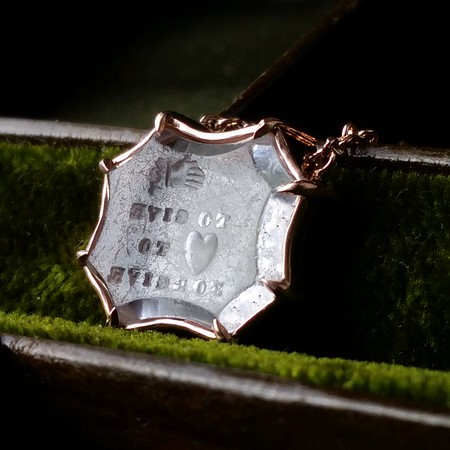 Hand to Give, Heart to Forgive Necklace, by Seal & Scribe