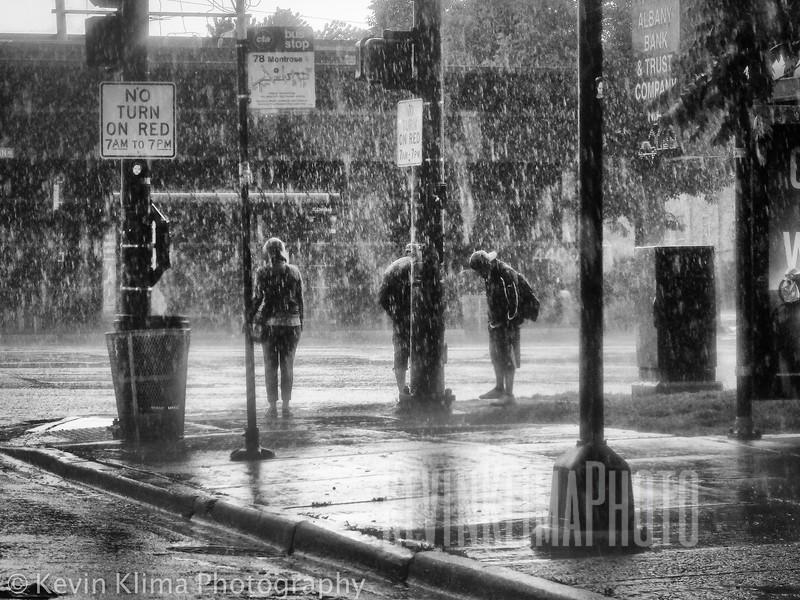 Montrose & Western - Pouring Rain!