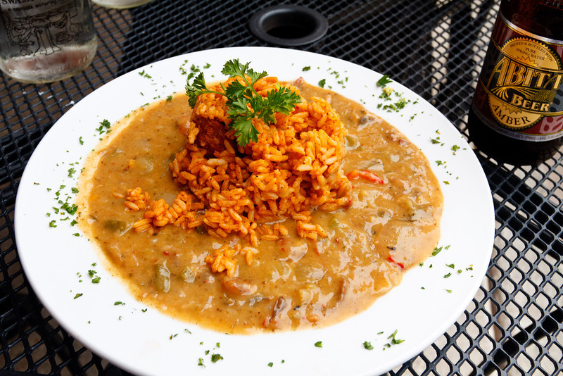 Crawfish Etouffee at Fleur de Lis