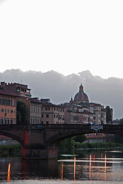 Bridge on the Arno River